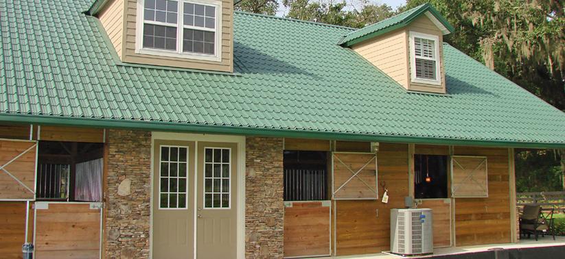 Barn Aluminum Metal Roofing - Steel Metal Roofing in Valdosta Georgia and Macon Georgia