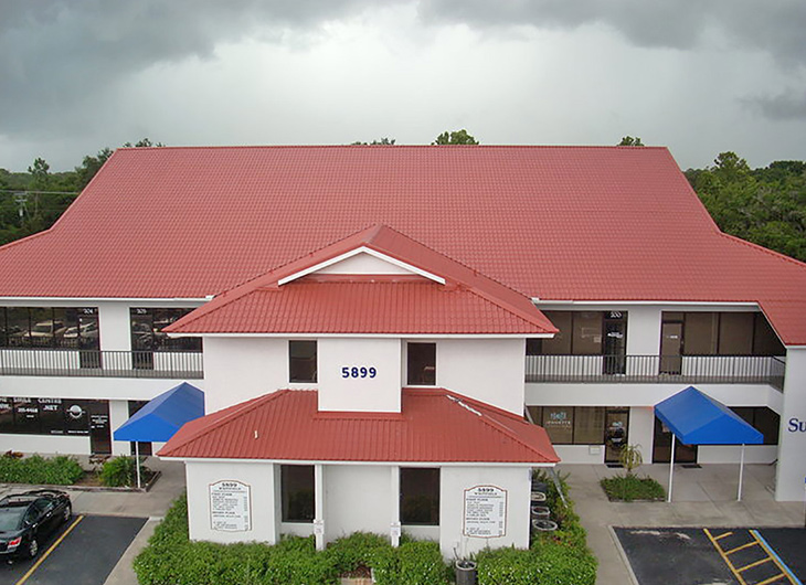Commercial Industrial Metal Roofing Advanced Aluminum