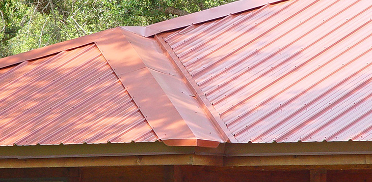 Metal Roofing Panel Material In Tampa
