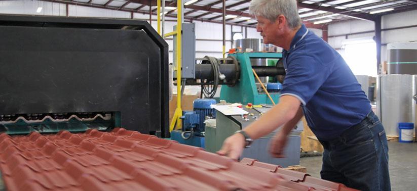 Industrial Metal Roof, Metal Roofing - Metal Roof Panels - Metal Roofing Panels Lakeland Florida, Orlando Florida