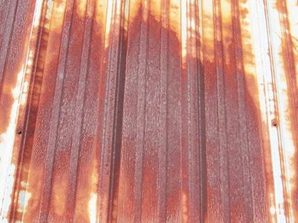 Rusty Metal Roof Advanced Aluminium