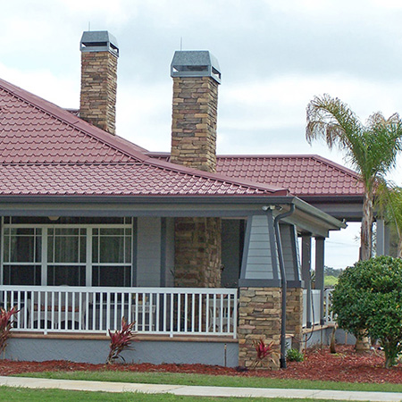 Metal Roofing on a Beach House