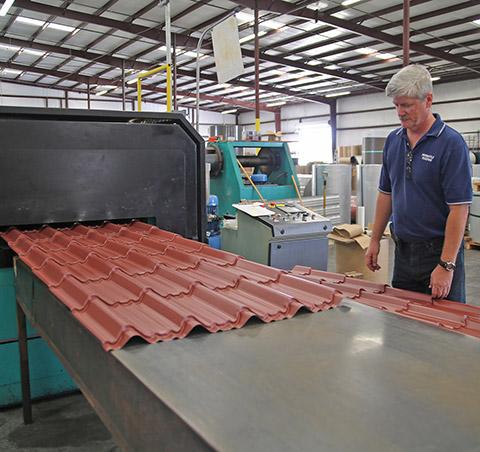 Augusta Georgia Barn Roll Forming Metal Roofing Manufacturer - Metal Panel Embossing