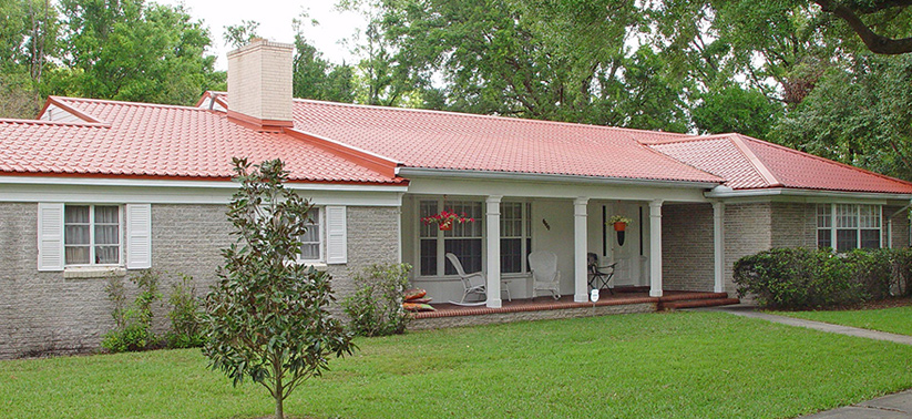 Home Imitation Tile Metal Roofing - Metal Tile Roofing - Permatile Metal Roofing Tampa Florida and Miami Florida