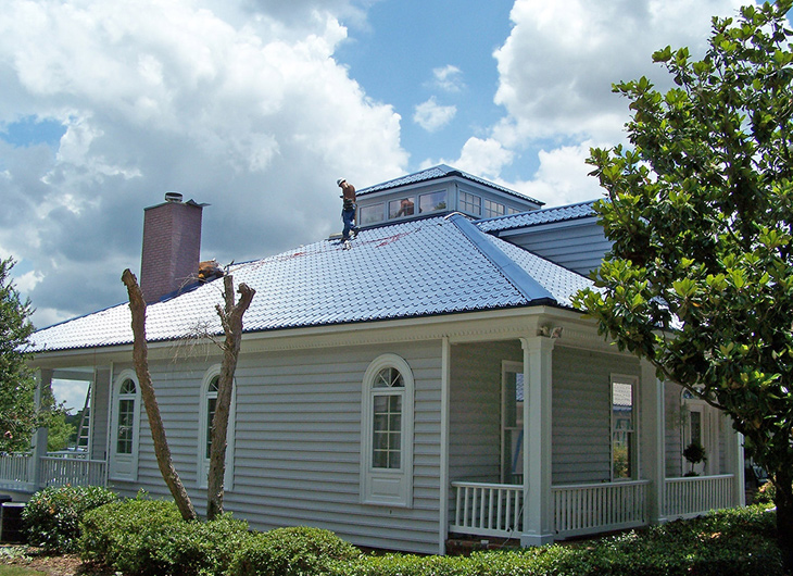 Residential Miami Florida Metal Roofing Supplier - Corrugated Metal Roofing - Ribbed Metal Roof Panels