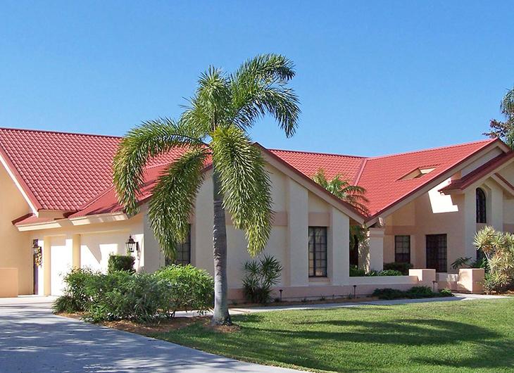 Miami Florida Residential Aluminum Metal Roofing - Steel Metal Roofing