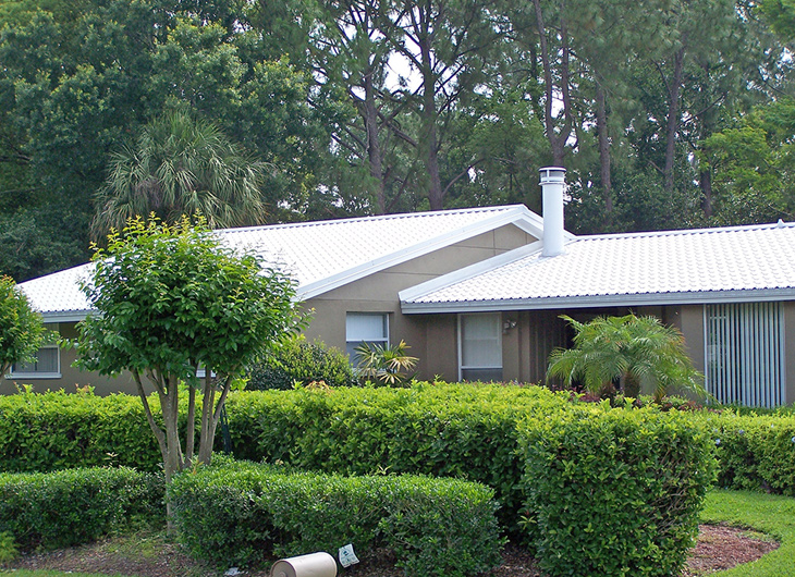 Orlando Florida Residential Roll Forming Metal Roofing Manufacturer - Metal Panel Embossing