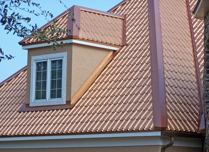 Augusta Florida Residential Imitation Tile Metal Roofing - Metal Tile Roofing - Permatile Metal Roofing