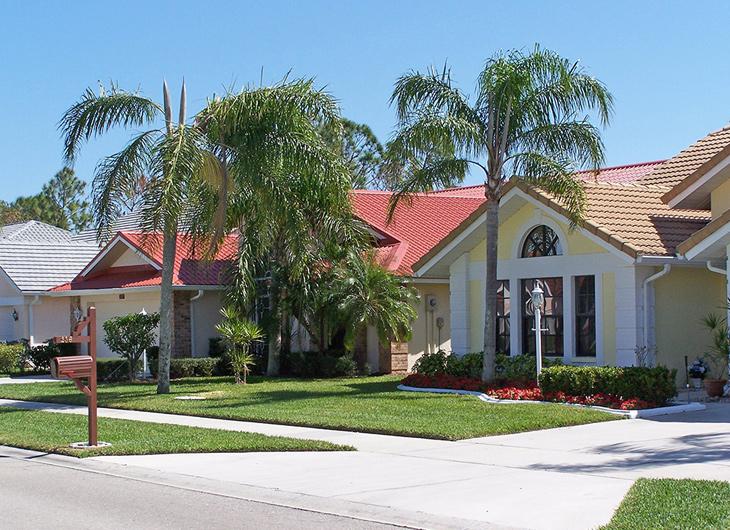 Residential Imitation Tile Metal Roofing - Metal Tile Roofing - Permatile Metal Roofing Tampa Florida