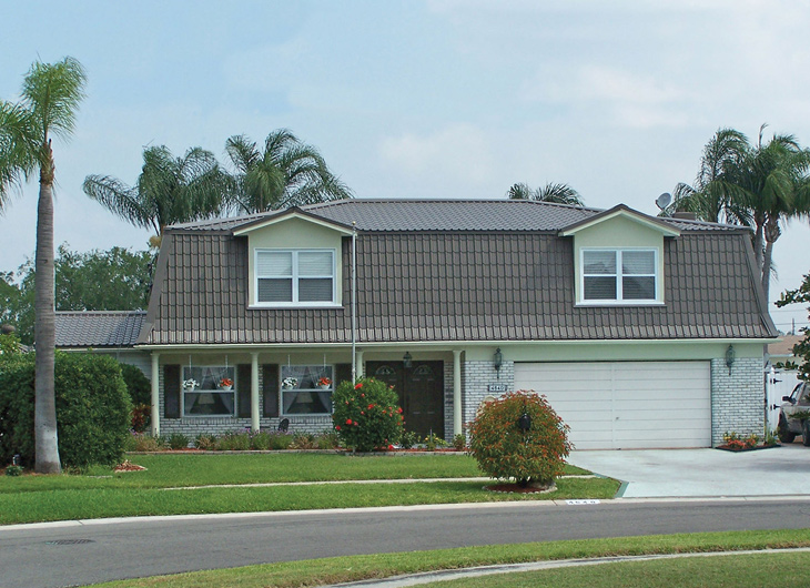 Residential R-Panel Metal Roofing - Rib Panel Metal Roofing - Ag Panel Metal Roofing Miami Florida