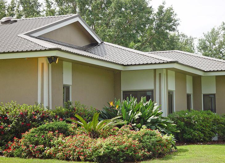 Residential Imitation Tile Metal Roofing - Metal Tile Roofing - Permatile Metal Roofing Lakeland Florida