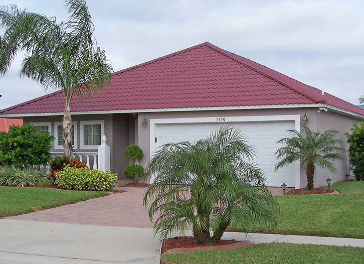 Residential R-Panel Metal Roofing - Rib Panel Metal Roofing - Ag Panel Metal Roofing Pensacola Florida