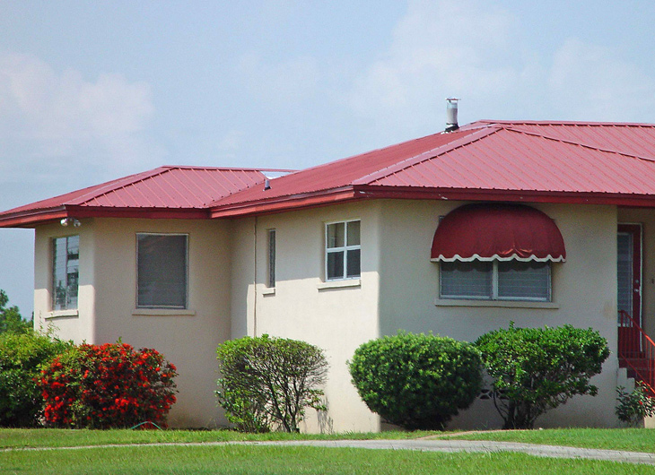 Residential Jacksonville Florida Metal Roofing Supplier - Corrugated Metal Roofing - Ribbed Metal Roof Panels