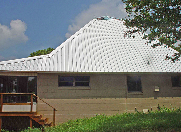 Residential Imitation Tile Metal Roofing - Metal Tile Roofing - Permatile Metal Roofing in Lakeland Florida