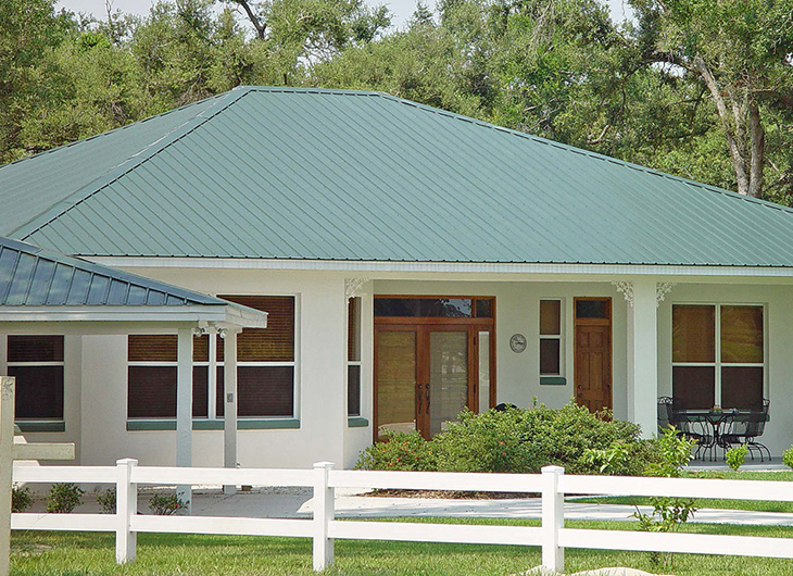 Residential Tampa Florida Metal Roofing Supplier - Corrugated Metal Roofing - Ribbed Metal Roof Panels