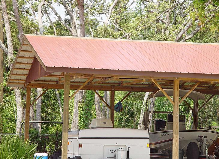 Residential Orlando Florida R-Panel Metal Roofing - Rib Panel Metal Roofing - Ag Panel Metal Roofing