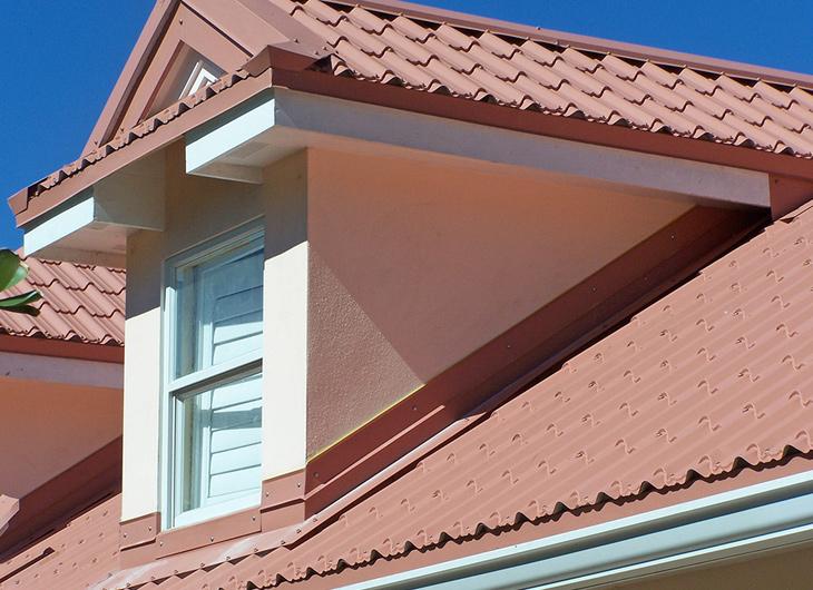 Residential Imitation Tile Metal Roofing - Metal Tile Roofing - Permatile Metal Roofing Atlanta Georgia