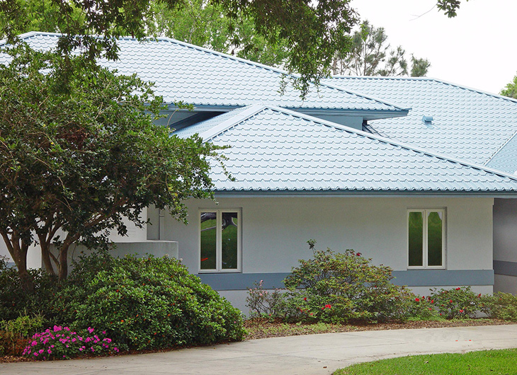 Residential R-Panel Metal Roofing - Rib Panel Metal Roofing - Ag Panel Metal Roofing near Lakeland Florida