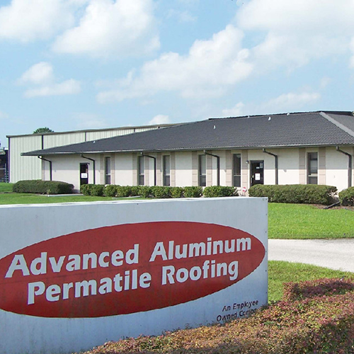 commerical & industrial aluminum roofing in Lakeland Florida