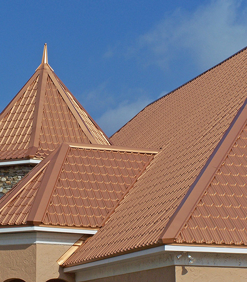 Traditional Shingles Metal Roofing Multiple Roofing Types